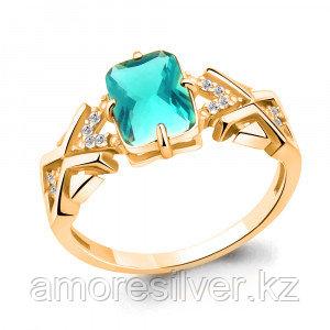 Кольцо из серебра   Aquamarine 6914088