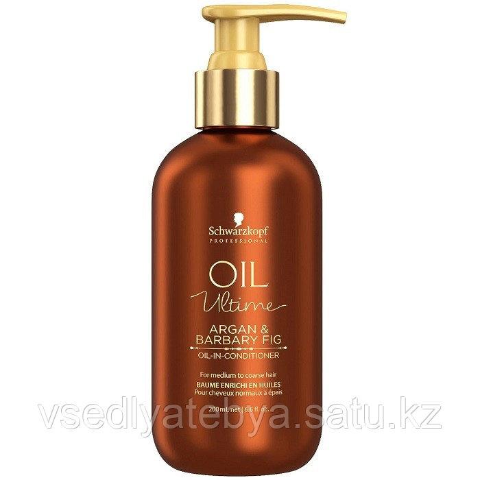 Кондиционер для нормальных и жёстких волос Schwarzkopf Oil Ultime Oil In Conditioner 200 мл