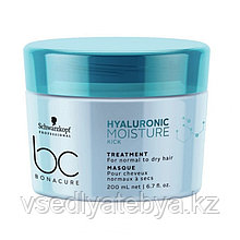 Увлажняющая маска Schwarzkopf BC Hyaluronic Moisture Kick Treatment, 200 мл