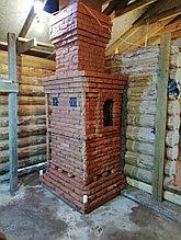 Печь для бани Тройка № 06-ГТ (усиленная) для коммерческих бань (30-70м3). Тверь.