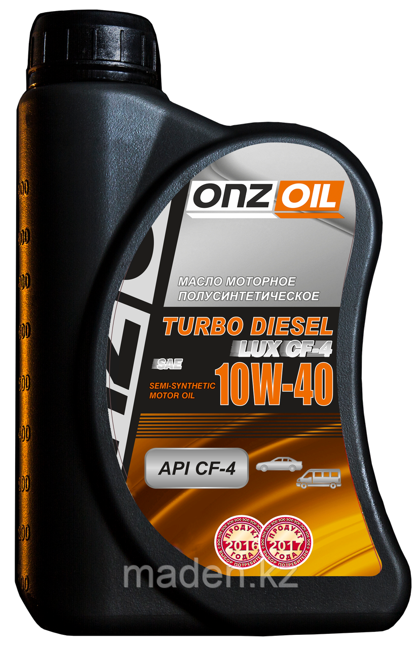 Моторное масло ONZOIL 10W40 Turbo Diesel Lux CF-4 0.9