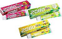 Dental Clinic 2080 KIDS Детская зубная паста(клубника,яблоко,банан)
