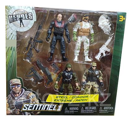 True heroes 4 in 1 steel, condor, extrime, patch