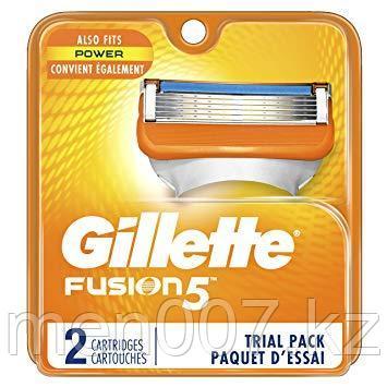 Gillette Fusion 5 (2 кассеты) США подходит для power с пульсацией