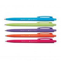 Ручка-автомат шариковая синяя 0,7мм, Bruno Visconti Soft Click