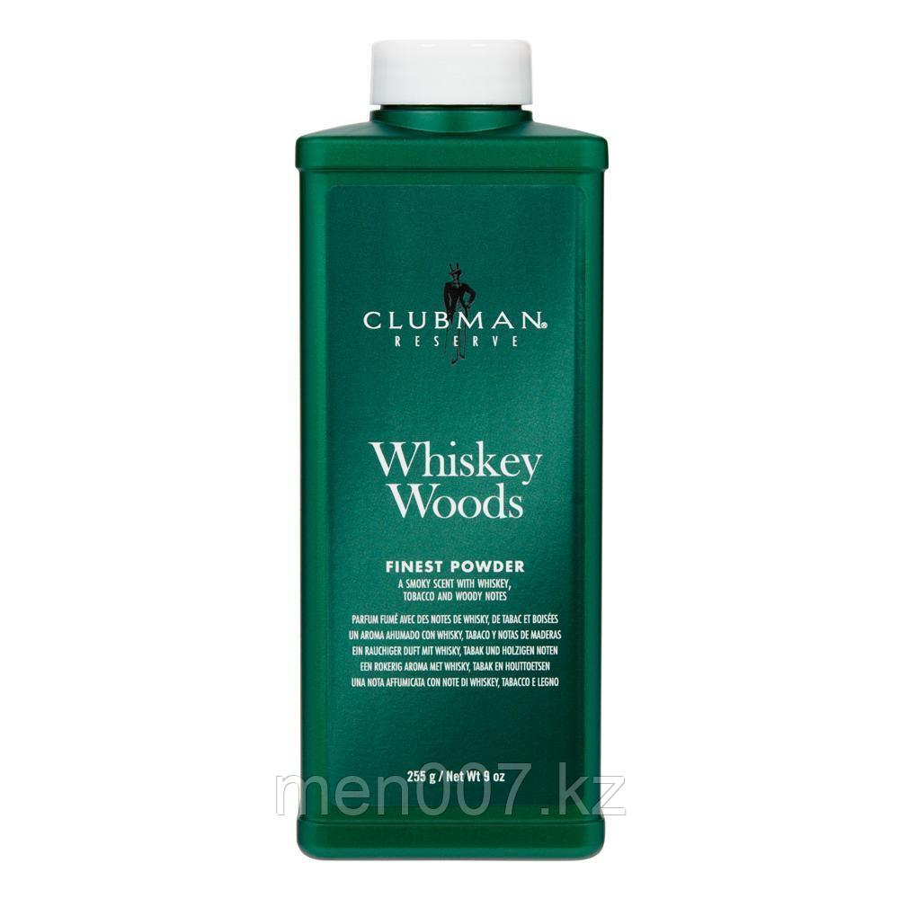 Clubman Whiskey Woods (Тальк после бритья) 255 г.