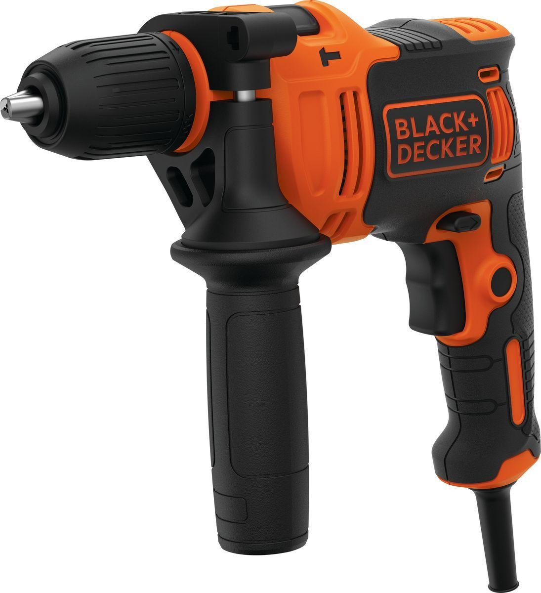 Дрель Black&Decker BEH710