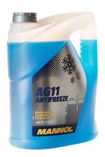 Антифриз MANNOL Longterm Antifreeze AG11 -40°C синий 5L.