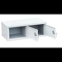 Шкаф индивидуального хранения горизонтальный 2 ячейки (600х310х215) арт. ИШК 2Г