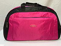 Спортивная сумка среднего размера. Высота 33 см,длина 55 см,ширина 24 см.