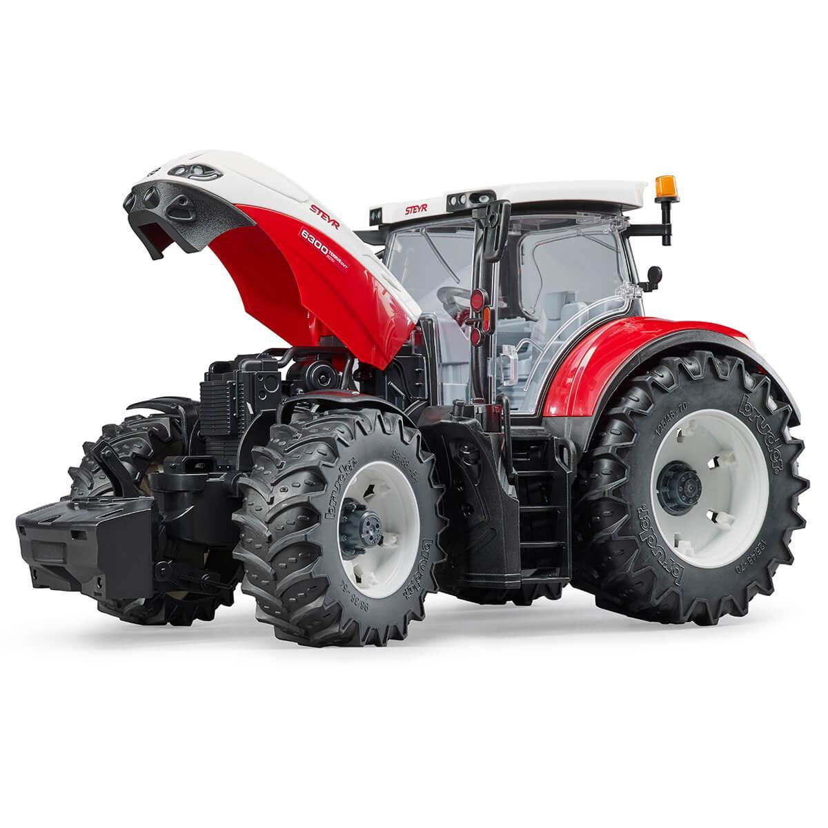 Трактор Steyr 6300 Terrus CVT Bruder