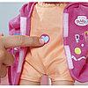 Zapf Creation Baby born 823-460 Кукла-пупс быстросохнущая с горшком и бутылочкой, 32 см, фото 4