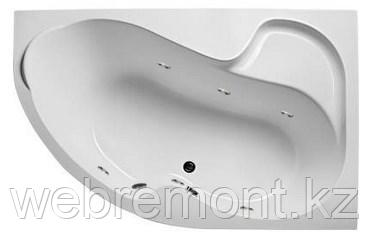 Акриловая гидромассажная ванна Аура 150х105х63 см.(Общий массаж), фото 2
