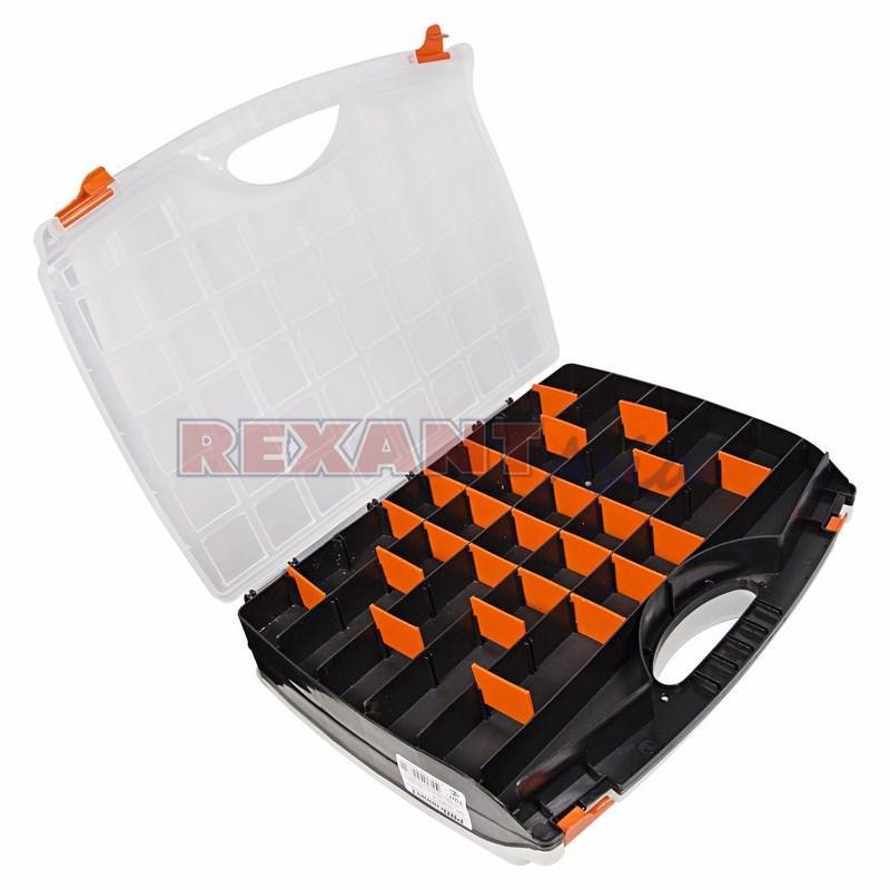Ящик пластиковый универсальный (двойной) PROconnect, 425х330х85 мм, (12-5021-4 )