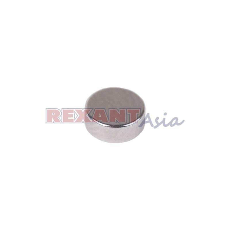 Неодимовый магнит диск 5х2мм сцепление 0,32 кг (упаковка 44 шт) Rexant, (72-3192 )