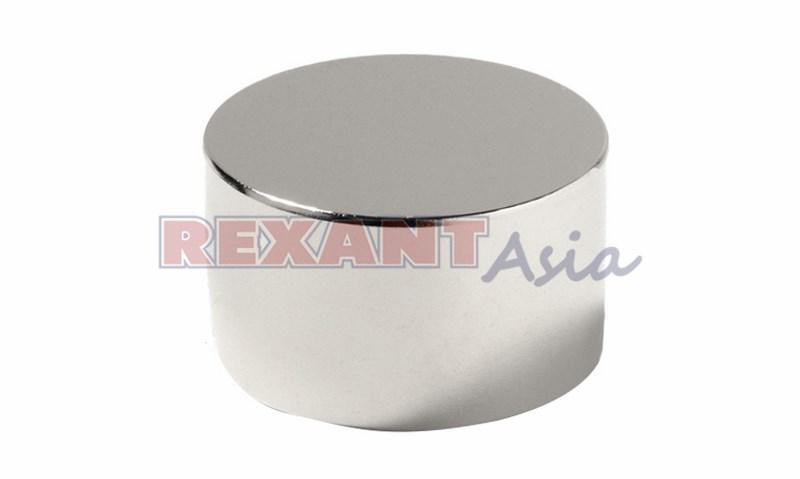 Неодимовый магнит диск 50х20мм сцепление 89 Кг Rexant, (72-3021 )