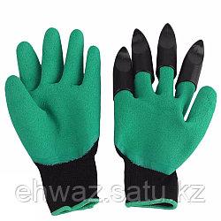 Уценка! Садовые перчатки Garden Genie Gloves с когтями