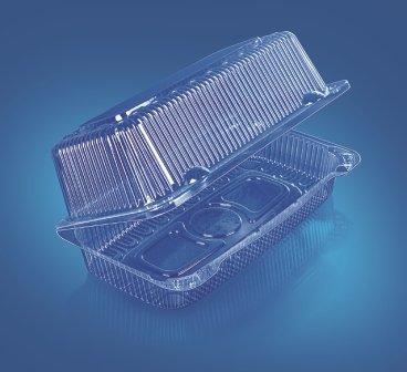 Упаковка прямоуг.,  внеш. 239х139х94 мм, внутр. 213х102х88 мм, прозрачн., ОПС, 280 шт