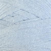 Пряжа-шнур 'Ribbon' 40 полиэстер, 60 хлопок 125м/250гр (760 голубой)