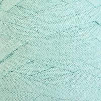 Пряжа-шнур 'Ribbon' 40 полиэстер, 60 хлопок 125м/250гр (775 мята)
