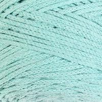 Пряжа-шнур 'Macrame Cotton' 15 полиэстер, 85 хлопок 225м/250гр (775 мята)