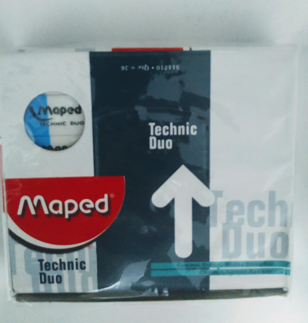 Ластик Maped Technic Duo - фото 2