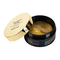 Патчи под глаза FARM STAY 24K GOLD&PEPTIDE SOLUTION AMPOULE EYE PATCH