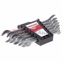 Набор ключей рожковых 8-19 мм 6 предметов REXANT, (12-5843 )