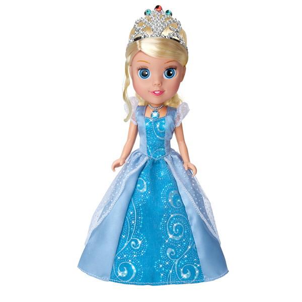 """Карапуз Интерактивная кукла """"Принцессы Диснея"""" Моя маленькая принцесса Золушка, 25 см"""