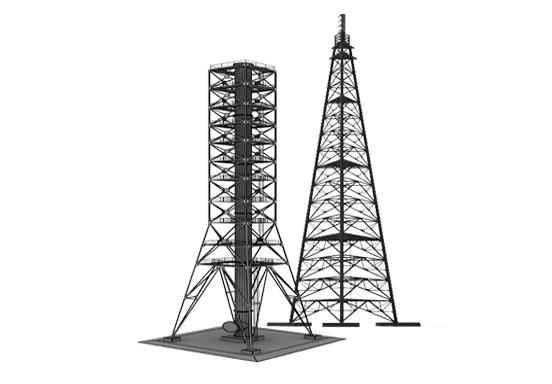 Прожекторная мачта ПМС-18,4 Серия 3.407-108