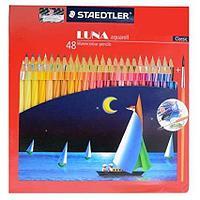 Staedtler вода-растворимые цветные карандаши набор 48шт
