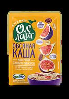 """Овсяная молочная каша быстрого приготовления """"Ол Лайт"""" с изюмом и инжиром, 40г"""