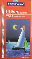 Staedtler вода-растворимые цветные карандаши набор 12-24шт