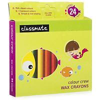 Цветные карандаши для восковых фигур Jumbo 24шт