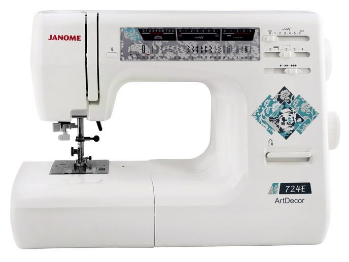 JANOME ARTDECOR 724E Швейная машинка