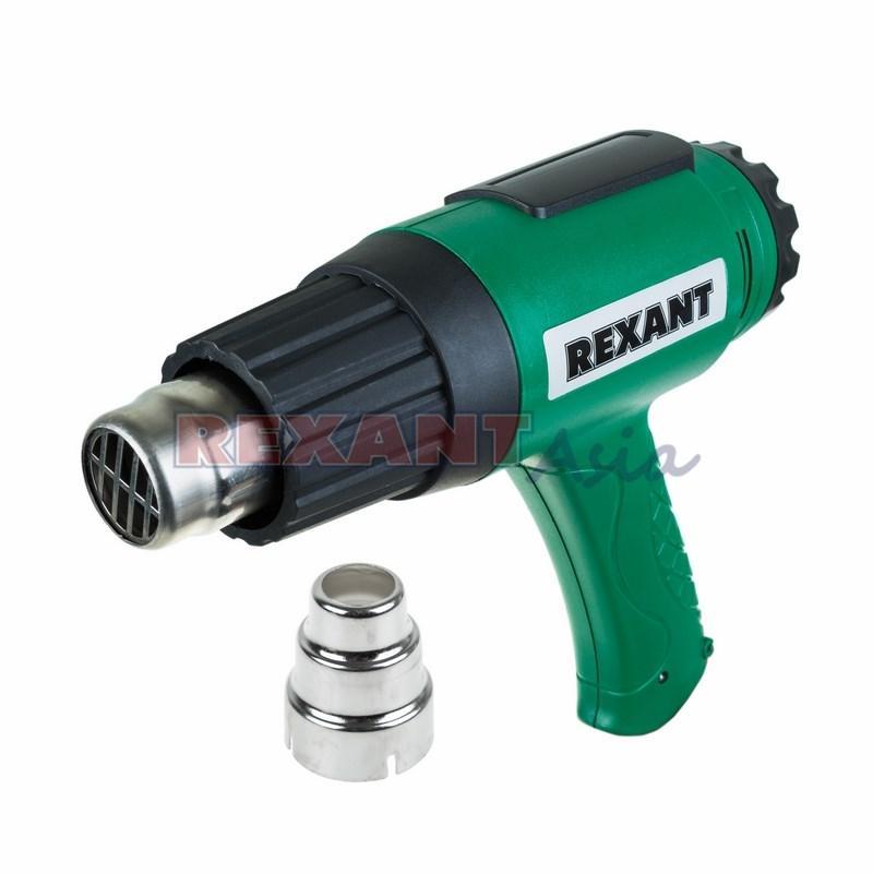 Фен строительный 230 В/1600 Вт с терморегулятором REXANT, (12-0056 )