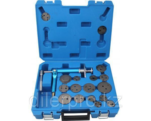 Инструмент сведения тормозных цилиндров пневматический (18 предметов) TA-B1074