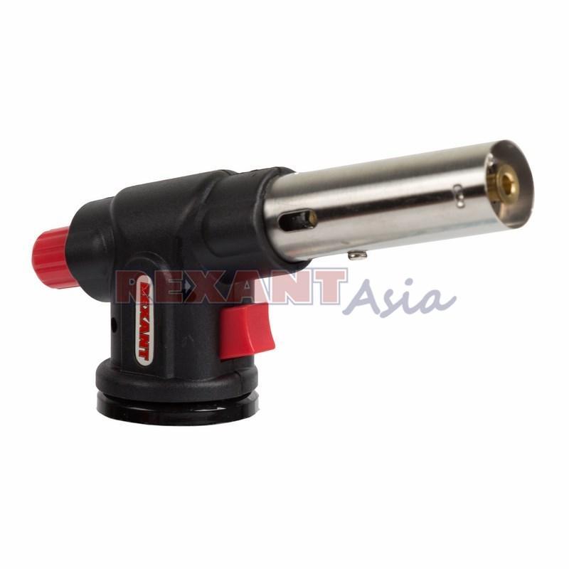 Газовая горелка-насадка GT-23 с пьезоподжигом REXANT, (12-0023 )