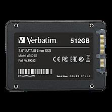 Твердотельный накопитель SSD, 512Гб, SATA III, 2.5'', 7mm, фото 2