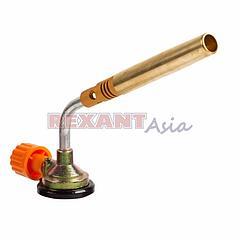 Газовая горелка-насадка GT-18 (механическая с регулятором) паяльного типа REXANT, (12-0018 )