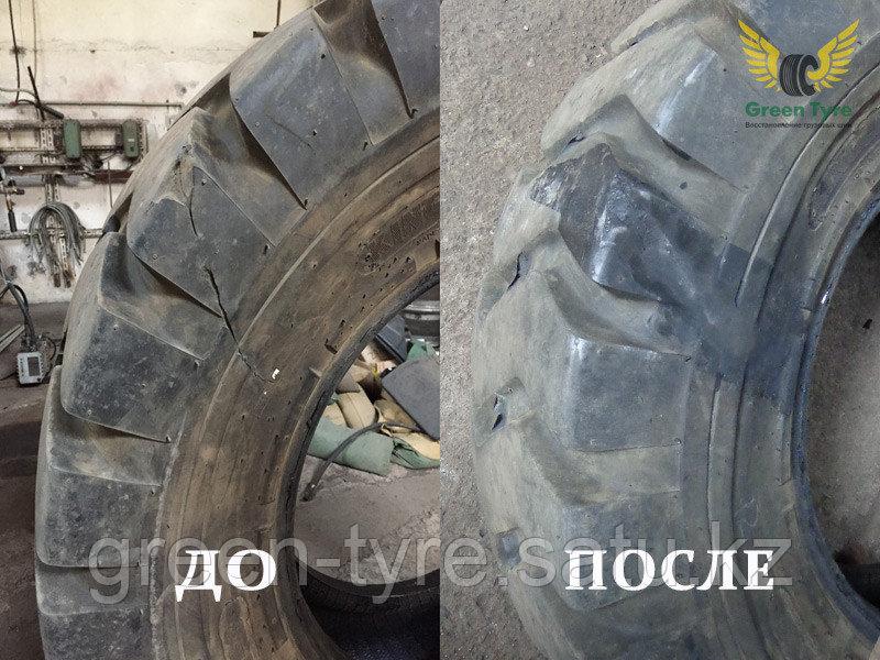 Ремонт грузовых шин с посадочным диаметром от R17,5 и выше