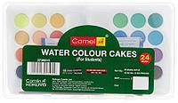 Акварельные краски water colour cakes Camel 24