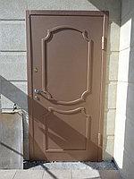 Двери входные уличные с МДФ на заказ в Алматы