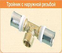 Тройник с наружной резьбой Hydrosta TM20-1/2-20 (Южная Корея)