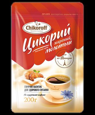 Цикорий жареный молотый Chikoroff® 200г