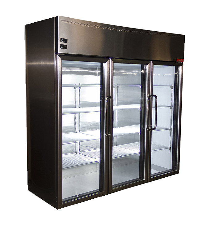 Шкаф-витрина LCF 3S Almagreen