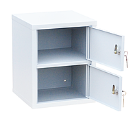 Шкаф индивидуального хранения вертикальный 2 ячейки (325х310х400) арт. ИШК 2В
