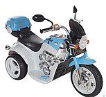 Электро-Мотоцикл AIM BEST MD-1188, 6V/4Ah*1, колеса  пластик 90х43х54 см, Бело-Голубой