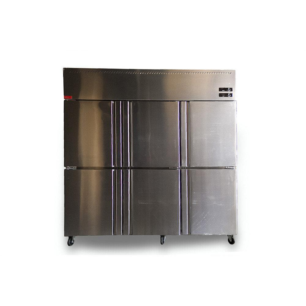 Шестидверный холодильный шкаф HUAMEI LCF 6M2D
