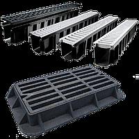 Лоток пластиковый решетка стальныя 150*185